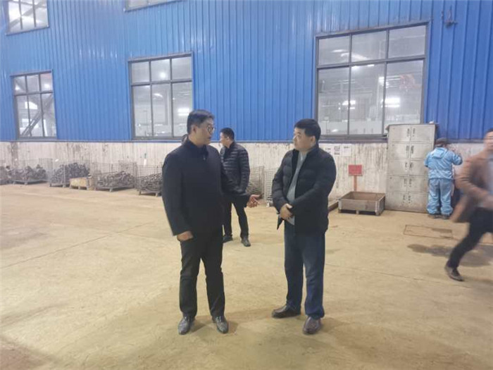Vice Mayor Wu Qiang came to Tianhai to investigate the situation of environmental protection and safety management