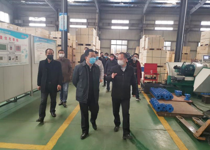 Municipal Party Secretary supervised Tianhai's prevention measures on COVID-19 and work resumption in production